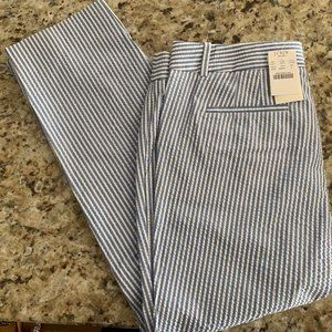 J. Crew size 6 City Fit Skimmer Pant - New NWT
